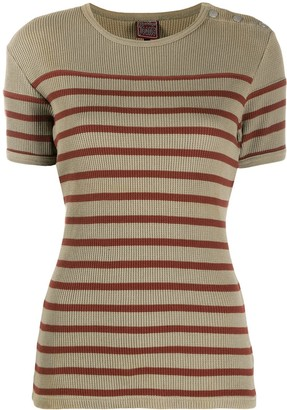 Jean Paul Gaultier Pre Owned 1990s striped T-shirt