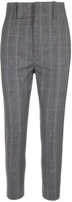 Etoile Isabel Marant Checked Peg Trousers