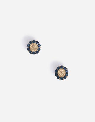Dolce & Gabbana Logo Silver Cufflinks