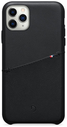 Decoded Leather Card Case for iPhone 11 Pro Max - black