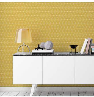 Graham & Brown Graham Brown Triangolin Mustard Wallpaper