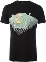 Versace digital Medusa T-shirt