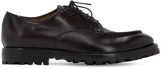 Officine Creative LEATHER LACE-UP SHOES
