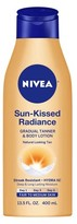 Nivea Sun-Kissed Radiance Gradual Tanner & Body Lotion Fair to Medium Skin - 13.5 oz