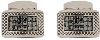Tateossian Engraved Rectangular Cufflinks