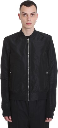 Rick Owens Reversibile Cro Casual Jacket In White Polyester