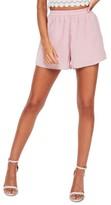 Missguided Women's Elastic Waist Crepe Shorts