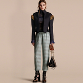 Burberry Braided Detail Military Wool Jacket