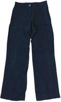 Sonia Rykiel Sonia By Black Cloth Trousers for Women