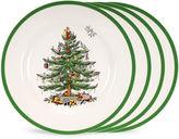 Spode S/4 Christmas Tree Salad Plates