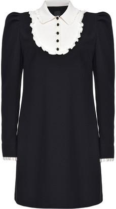 Pinko Trompe-L'il Mini Dress
