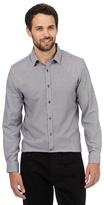J By Jasper Conran Big And Tall White Zigzag Shirt