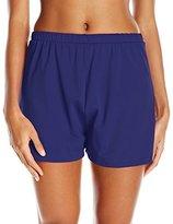Maxine Of Hollywood Women's Solid Separate Bottom Jogger Short Bikini Bottom