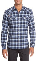 Gramicci Men's 'Off Trail' Regular Fit Flannel Sport Shirt