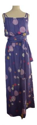 Ted Lapidus Purple Dress for Women Vintage