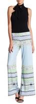 Julian Chang Susan Print Jersey Pant