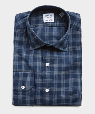 Hamilton Made in USA + Todd Snyder Check Dress Shirt