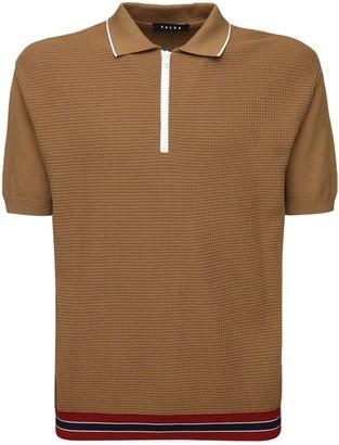 Falke Zipped Cotton Polo