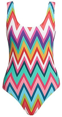 Missoni Zigzag One-Piece Swimsuit