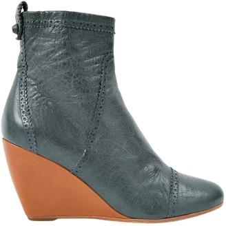 Balenciaga \N Green Leather Boots