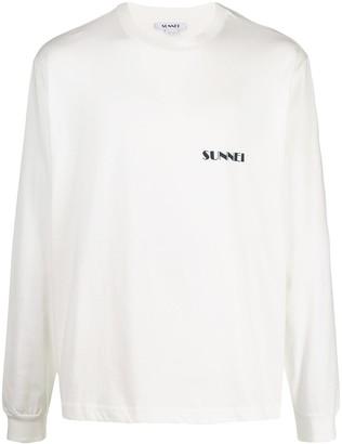 Sunnei logo-print T-shirt