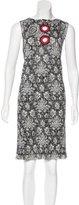 Louis Vuitton 2015 Metallic Dress