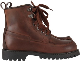 Gallucci Brown Ankle Boots For Boy