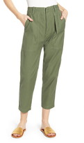 Citizens of Humanity Cotton Twill Taper Crop Pants