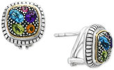 Effy Final Call by Multi-Gemstone (2-7/8 ct. t.w.) Stud Earrings in Sterling Silver and 18k Gold