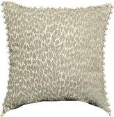 Rose Tree Preston Leopard and Textured Reversible Euro Sham
