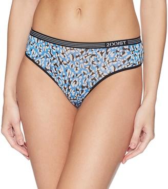 2xist Women's Womens Modal Low Rise Thong Underwear