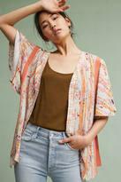 Anthropologie Cera Printed Kimono
