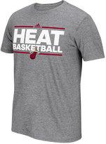 adidas Men's Miami Heat Nue Phrase T-Shirt