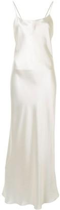 Anine Bing Chloe silk maxi dress