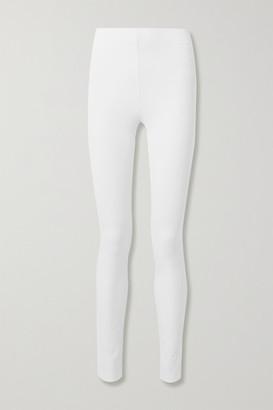 Joseph Stretch-gabardine Leggings - White