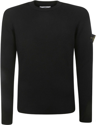 Stone Island Patched Knit Jumper
