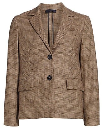 Piazza Sempione Stretch Two-Button Jacket