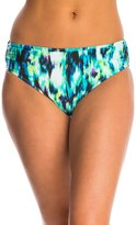 Kenneth Cole Floral Explosion Shirred Hipster Bikini Bottom 8139286