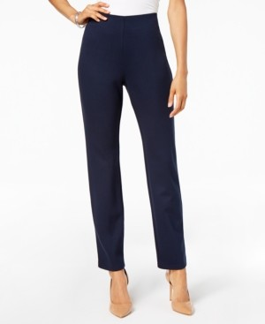 JM Collection Hollywood Ponte-Knit Pull-On Pants, Created for Macy's