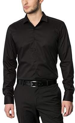 Eterna Men's Z181 Business Shirt, (Black 39), 15