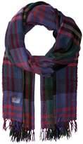 Polo Ralph Lauren Lightweight Wool Plaid Wrap Scarves