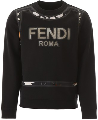 Fendi Logo Motif Sweatshirt
