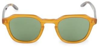 Barton Perreira Tucker 49MM Square Sunglasses
