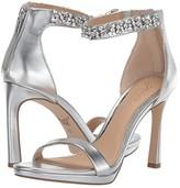 Badgley Mischka SIERRA (Silver Metallic) Women's Dress Sandals