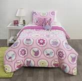 Heritage Kids Owl Garden 5 Pc Comforter Set, 5 Piece