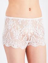 Marjolaine Caprise lace shorts