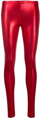 Parlor Metallic Pull-On Leggings