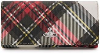 Vivienne Westwood Tartan-print Faux Leather Wallet