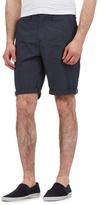 Red Herring Navy Mini Grid Print Shorts