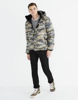 Madewell x Penfield Equinox Puffer Jacket in Camo